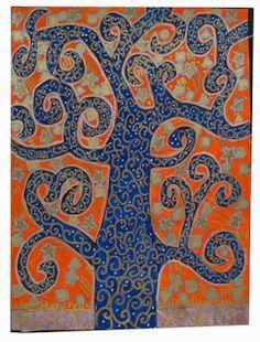 Art Education Daily: Gustav Klimt Trees
