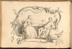 https://flic.kr/p/67VspA | Liber Amicorum - Johann Christian Sigmund Mönch i | bibliodyssey.blogspot.com/2009/03/facebook-in-1750s.html