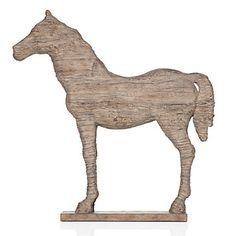 Z Gallerie - Faux Driftwood Horse  $39.95