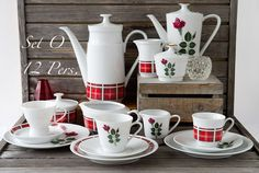 Vintage Service - Kaffeeservice Vintage Dekor Mix - Unikat O/12 Pers - ein Designerstück von marion-losse bei DaWanda