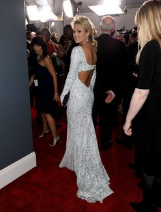 My favorite dress from the Grammy's this year! Carrie Underwood
