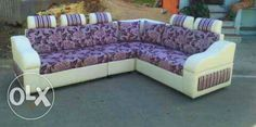Brand new sofa and comfortable with warrenty This sofa Price is Rs 27,500please call or whatapp me my contact number is 9681583198