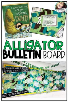 This kit has everything you need to make an eye-catching End of the Year, Back to School, or ANYTIME bulletin board or door décor display. The kids will have so much fun coming up with funny advice for why students should NOT bring an alligator to school! They will come up with a list of the top 5 reasons that it wouldn't be a good idea. This project connects directly to the popular book, If you Want to Bring an Alligator to School, Don't #backtoschool #endofyear #bulletinboard #craftivity