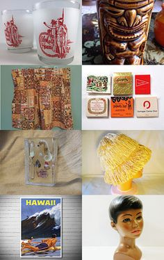 Vintage Hawaii by Claudia on Etsy--Pinned with TreasuryPin.com