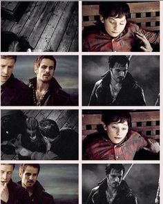 THIS is why Captain Swan is endgame. Hook worries about Henry too, not just Emma.