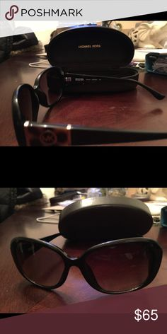 Michael kors sunglasses Very good used condition with cleaning cloth and hard case MICHAEL Michael Kors Accessories Sunglasses