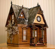 Orchid kit by Greenleaf dollhouses