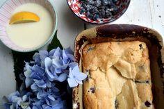 Best Ever Blueberry Coffee Cake {with Lemon Glaze}