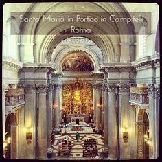 Rome J-3  Pèlerinage #SumPont2015  Santa Maria in Portico in Campitelli  #Populus #Summorum #Pontificum #SummorumPontificum #pellegrinaggio #Roma #Паломничество в #Рим.