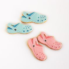 Galletas Crocs http://ifeelcook.es/galletas-crocs/