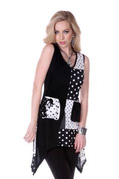 Style A14217 Black/White