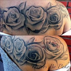 Tattoos Tags Black And Gray Grey Feminine Tattoo Flower Tattoos Tags Black And Gray Grey Feminine Tattoo Flower Rose Tattoos, Flower Tattoos, Tattoo Roses, Unique Tattoos For Women, Ink Addiction, Feminine Tattoos, Future Tattoos, Skin Art, Black And Grey Tattoos