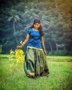 Cute Girl Photo, Girl Photo Poses, Girl Photography Poses, Girl Photos, Village Photography, Beautiful Girl Indian, Beautiful Girl Image, Beautiful Indian Actress, Indian Photoshoot