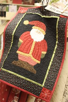 All I want for Christmas is a Santa Quilt!
