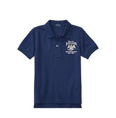 Polo Ralph Lauren® Boys' 2T-20 Short Sleeve Flag Tee