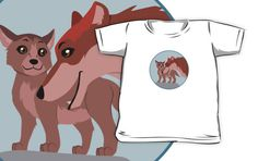 Father Wolf and Pup Kids Clothes #wolf #wolves #animals #pup #father