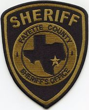FAYETTE COUNTY TEXAS SHERIFF PATCH