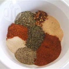 Cajun Spice (Kreolische Gewürzmischung) @ de.allrecipes.com
