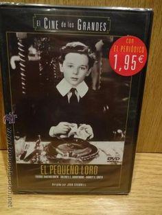 EL PEQUEÑO LORD. FREDDIE BARTHOLOMEW / DOLORES C. BARRYMORE. DVD - PRECINTADO.