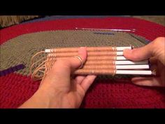 Knifty Knitter Straw Weaver Instructional Video
