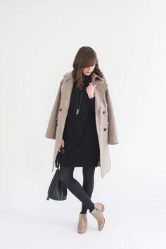 @AReasonablyDressedWoman --- Long Camel Coat