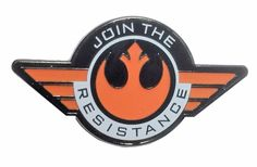 Star Wars Join The Resistance Rebel Alliance 1 Wide Metal Enamel Pin Costume Accessory Star Wars Jacket, Star Wars Merchandise, Rebel Alliance, Disney Jewelry, Star Wars Rebels, Cool Pins, Disney Star Wars, Metal Pins, Disney Pins