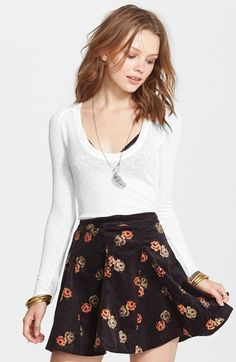 Free People Layering Me Long Sleeve Thermal Tee is on sale now for - 25 % ! is on sale now for - 25 %