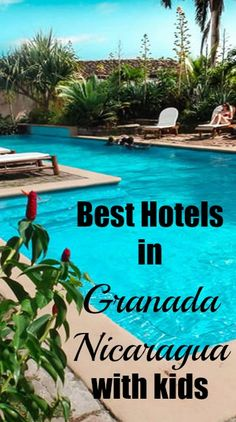 While my family general prefers to book vacation rentals while traveling, which guarantees we have space to spread out and have access to a fully equipped kitchen, Granada is a city that may actually be worth booking a hotel for a number of reasons (read on to discover why...)  Here are the best hotels in Granada Nicaragua with kids.
