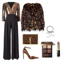 """""""Jumpsuit"""" by glamoriadesigns on Polyvore featuring Bobbi Brown Cosmetics, Yves Saint Laurent, Phase Eight, Dries Van Noten and Dune"""