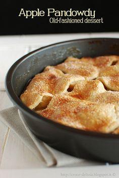 Apple Pandowdy la torta americana che si fa in padella
