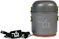 Off-Grid Power Generator (in form of Cooking Pot) Interesting
