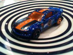 Custom 2005 Ford Mustang doughnuts