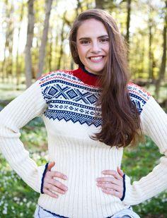 Marius ribbsweater