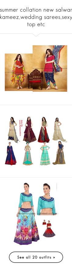"""""""summer collation new salwar kameez,wedding sarees,sexy top etc"""" by parisworld-surat ❤ liked on Polyvore featuring Boohoo, Zimmermann, Charlotte Olympia, Stila, Lokai, Gucci, Holiday Lane, men's fashion and menswear"""