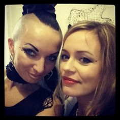 With my gorgeous darling Dominika! I love this girl so so much!!! #bestfriends #anetavoncyborg #aneta_von_cyborg #DominikaZielinska #love #friends #forever #goodtimes #Polishgirls #pretty #gorgeous #fun