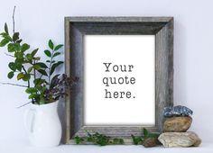 Custom Quote / Custom Quote Print / Personalized Quote Print / Custom Poster / Dorm Art by MadKittyMedia on Etsy https://www.etsy.com/listing/216584231/custom-quote-custom-quote-print