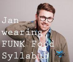 Jan wearing FUNK Food | Syllabub