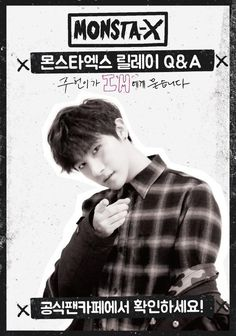 [#Monsta_X] #몬스타엑스 Relay-Q&A!, the last hero! just give the child #아이엠 this…