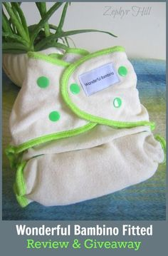 Wonderful Bambino Bamboo Fitted Diaper Review