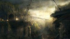 Cool concept art from the game S.T.A.L.K.E.R.: Shadow of Chernobyl.
