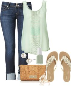 Love this top and sandals