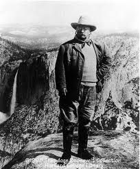 Teddy Roosevelt.  Shot and killed many wild, beautiful animals but also our most ardent conservationist.