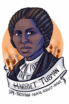 Harriet Tubman, though disabled by a blow to the head and enslaved in the US South, Harriet would free herself and go on to free hundreds more, as well as being a spy and the first woman to lead a US military strike (the Combahee River Raid).