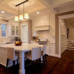 kitchen islands with seating configurations | 216,718 island seating Home Design Photos