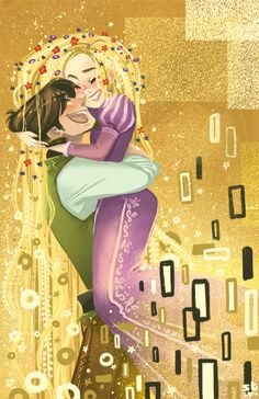 Rapunzel and Flynn by Charapoo on deviantART