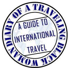 Diary of A Traveling Black Woman: A Guide to International Travel Beautiful Black Women, Travel Guide, Traveling, Woman, Board, Viajes, Travel Guide Books, Women, Trips