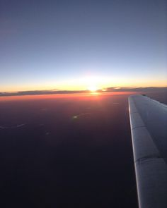 Flying all through the night meant watching the sunset over the Pacific sunrise over the Atlantic and planting my feet on foreign ground. #adventureswithDrRon #nofilter #forthesakeofthestory #alwaysroaming #liveadventurously #sunset #flying by mckenzi.jo