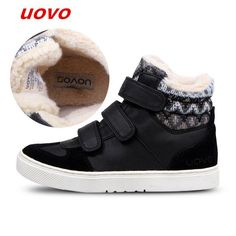 5b7bbb38458 2018UOVO Fall Children Shoes Boys and Girls Sneakers 3 Hooks and Kids Shoes  High Quality Sports