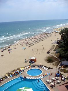 Albena, Bulgaria is today one of the most exclusive seaside & Spa resort of Bulgarian Black Sea,This coastal town, 35 km from the important city of Varna, has in these last decades developed important tourism thanks to its sandy beaches & the opportunity to enjoy Spa treatments & a vibrant night life.