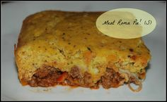 Meat Roma Pie!  Sugar-free and THM (S)!  This will become a new family favorite!  It's so good!!